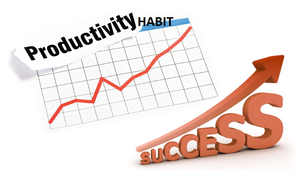 Productivity habit equal success